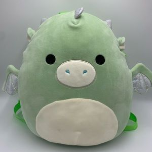 Squishmallow Drew the Dragon, BackPack, Excellent!